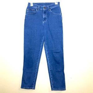 Lee Jeans high rise blue denim